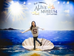 Enjoy Great Fun with Alive Museum Singapore and Maybank